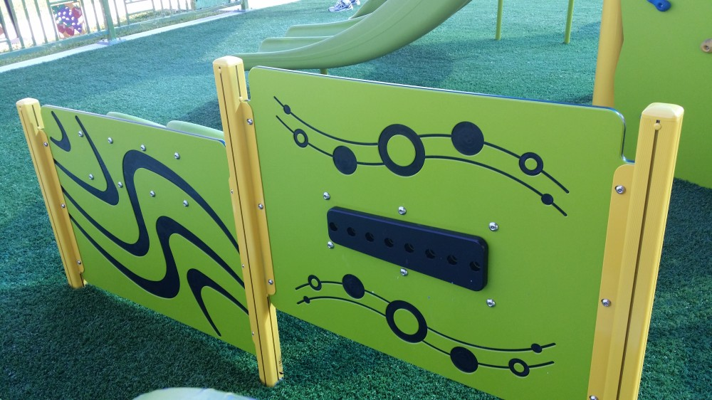 Sensory Equipment at Caporella Park