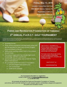 2016 PAROT Golf Tournament