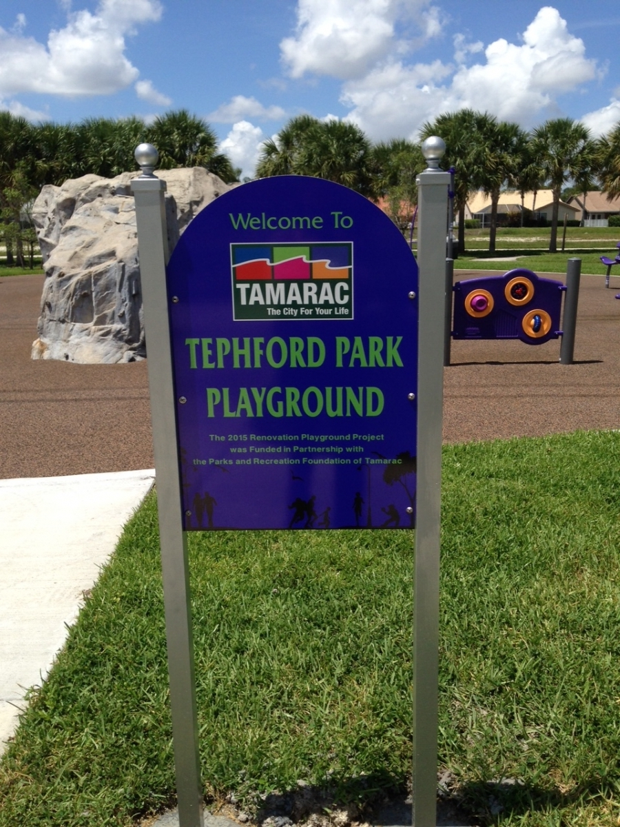 Tephford Park New Playground Equipment